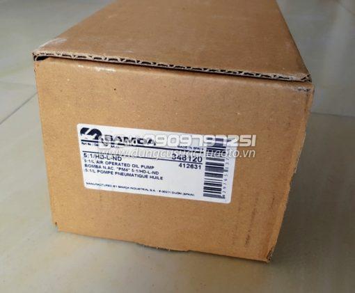 Bơm nhớt thùng 200 lít Samoa 348120